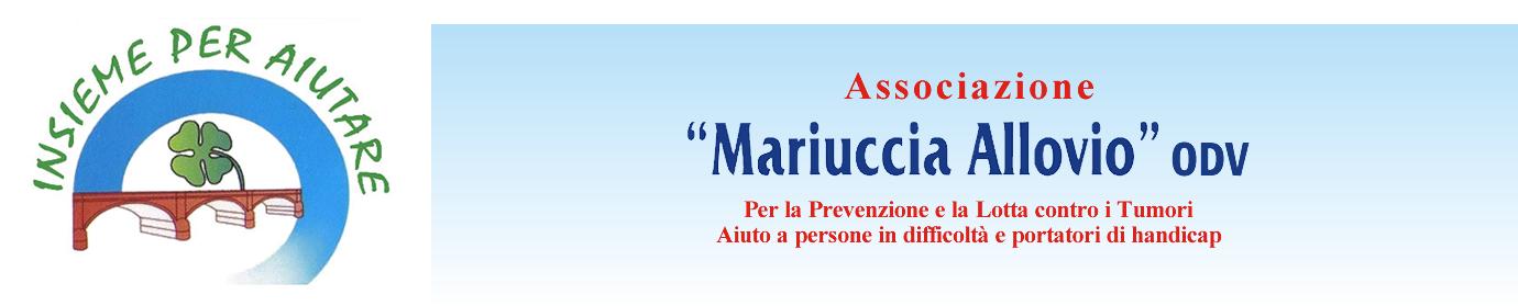 """Associazione """"Mariuccia Allovio"""""""